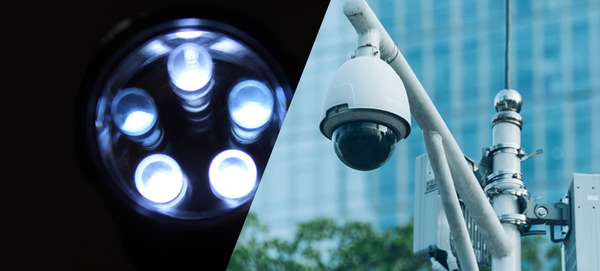 LED照明・防犯カメラの施工